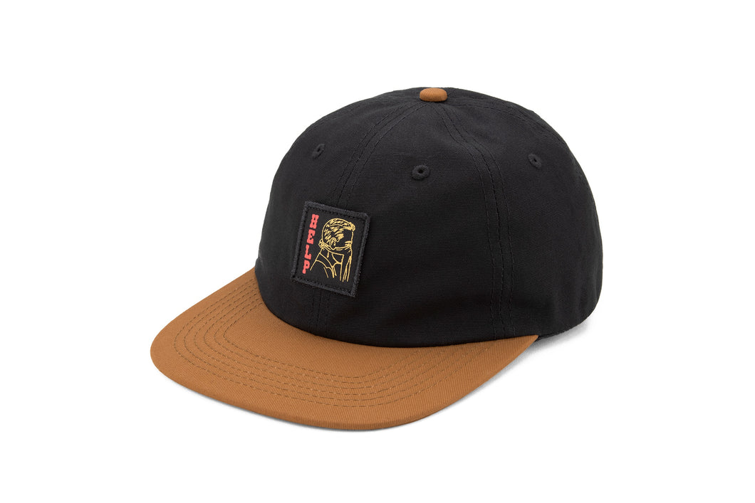HELP WRANGLE HAT - BLACK