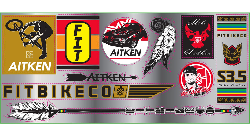 AITKEN STICKER SHEET