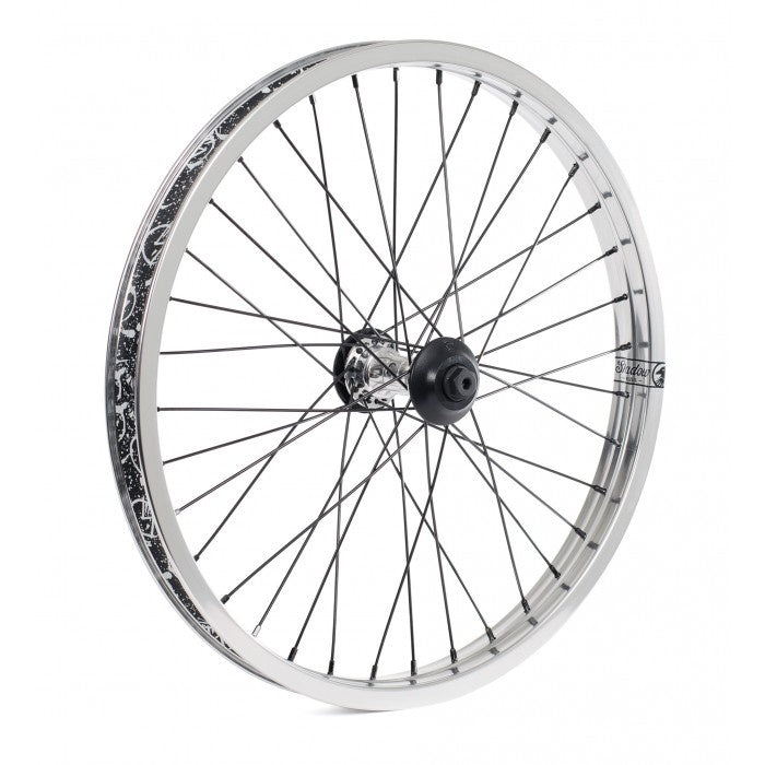 SHADOW SYMBOL FRONT WHEEL POLISHED