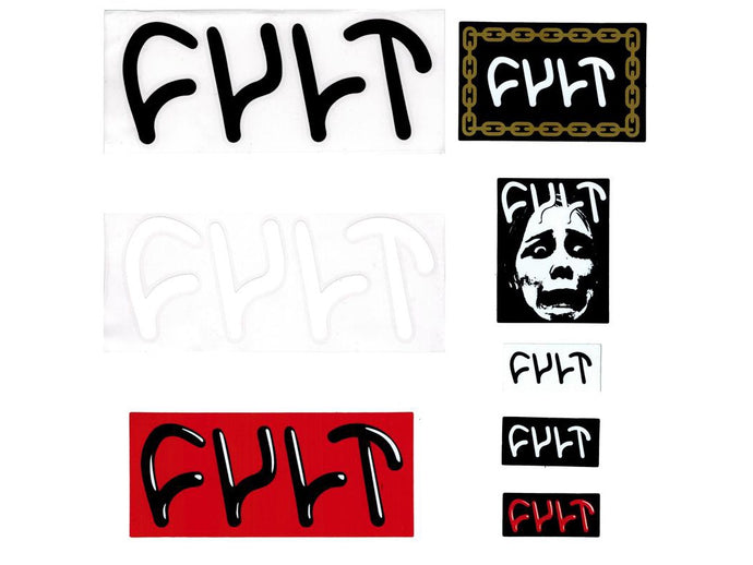 CULT STICKER PACK