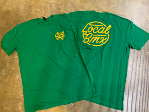 LOCAL THROWBACK TEE  GREEN