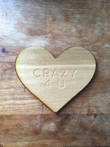 Crazy For You Coaster