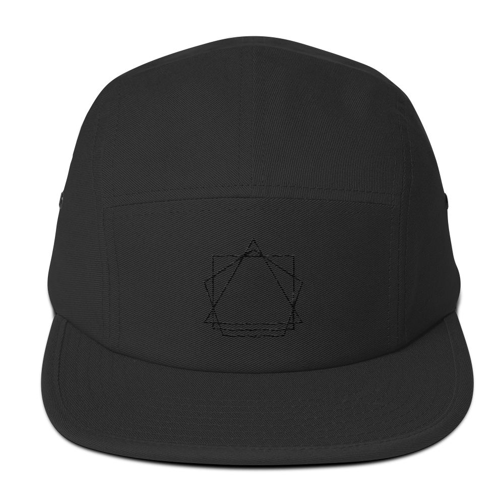 Logo five panel hat