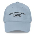 Unisex Baby Blue Let's Spread Some Love Embroidered Hat