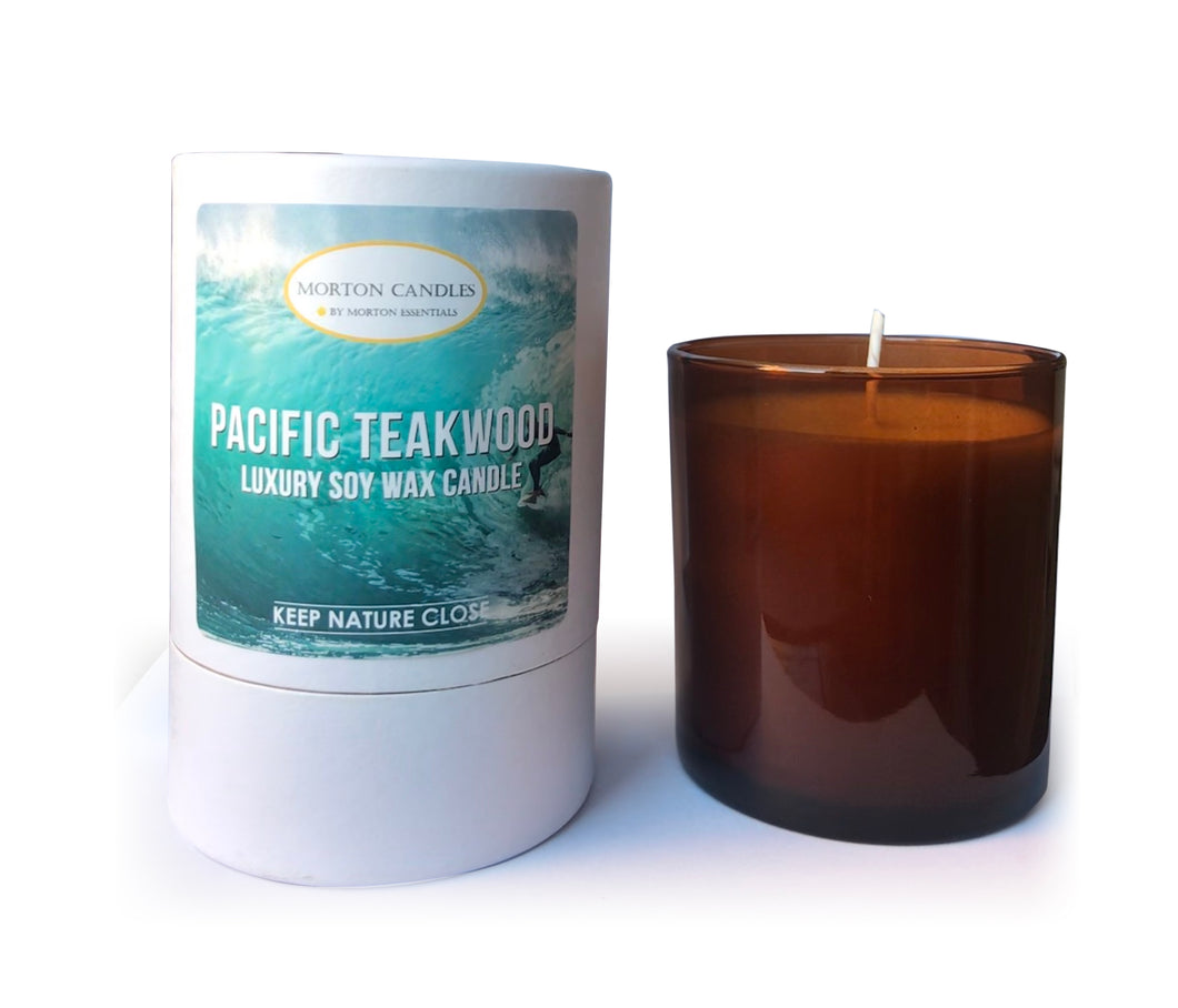 Pacific Teakwood Candle