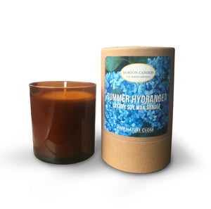Summer Hydrangea Candle