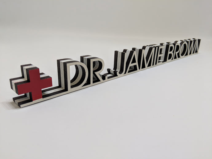 Doctor Medical Desk Name Plate