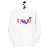 Queens Made Orange/Blue Unisex Hoodie