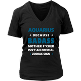 Aquarius Because Mother T-Shirt Quotes Hoodie