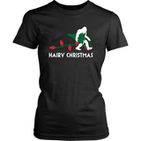 Bigfoot Hairy Christmas Tree Shirt Holiday Sasquatch Gift Quotes Hoodie