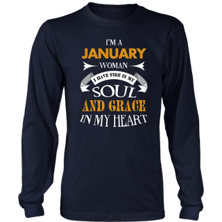 I'm A January Woman - Funny Birthday T-Shirt