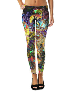 Face Melt Leggings