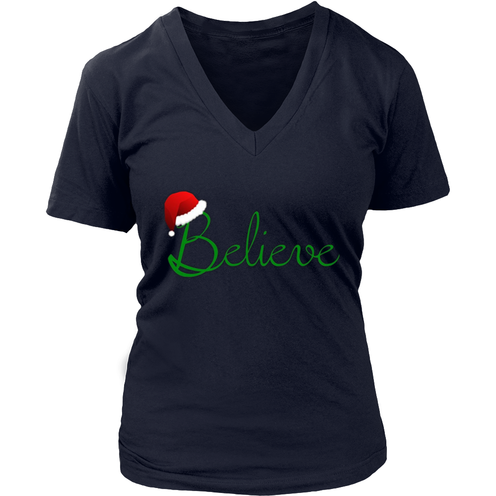 Believe Christmas Shirt - Best Santa Christmas Tee