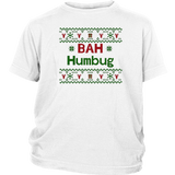 Bah Humbug Hate Winter Holidays Ugly Christmas Sweater Shirt Quotes Hoodie