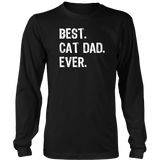 Best Cat Dad Ever T-Shirt Quotes Hoodie