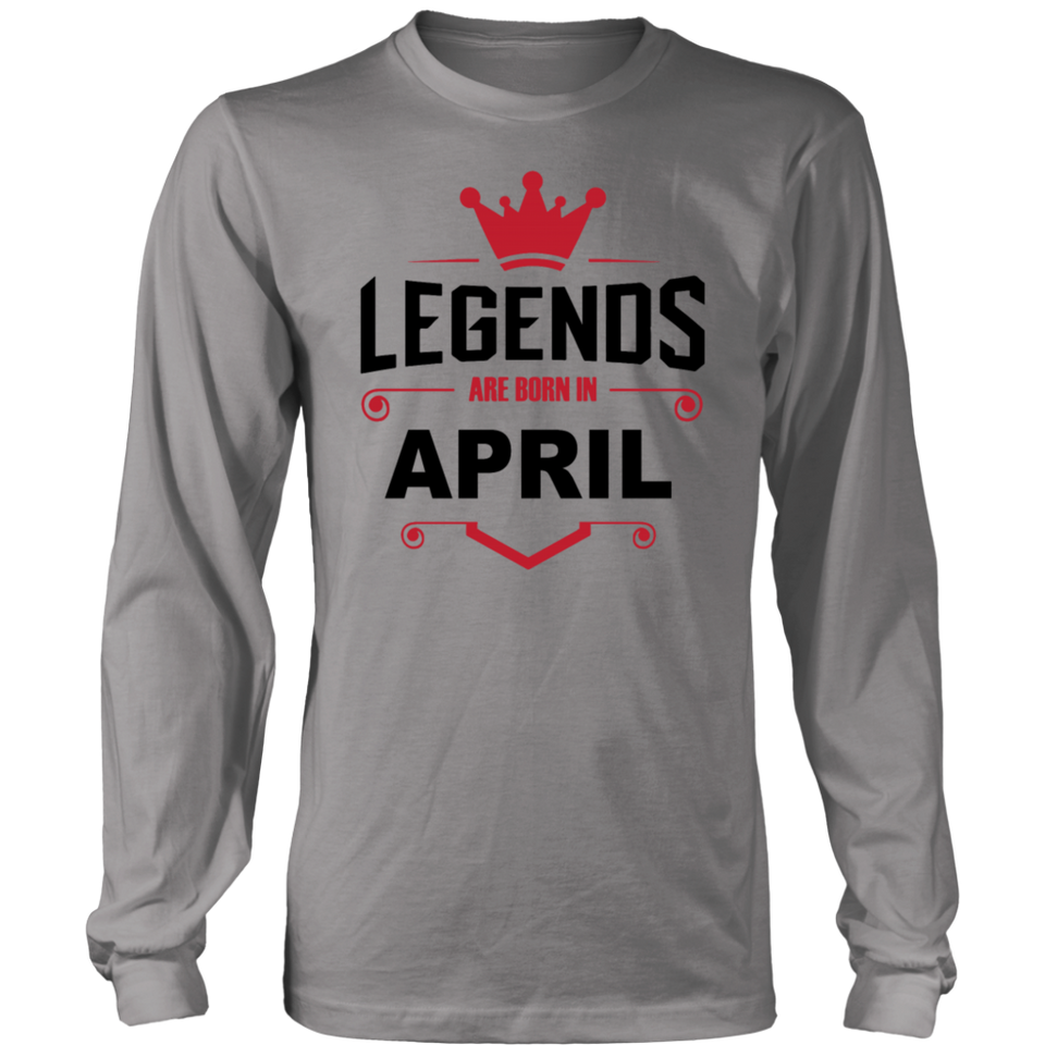 58b42cb7bcc ... Quotes Hoodie · Soccer Legends Are Born In April Shirt - Birthday Shirt  ...