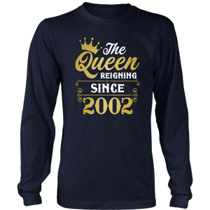 The Queen Reigning Since 2002 T-Shirt