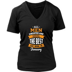 all men created are equal January t shirt the best Hoodie Tank-Top