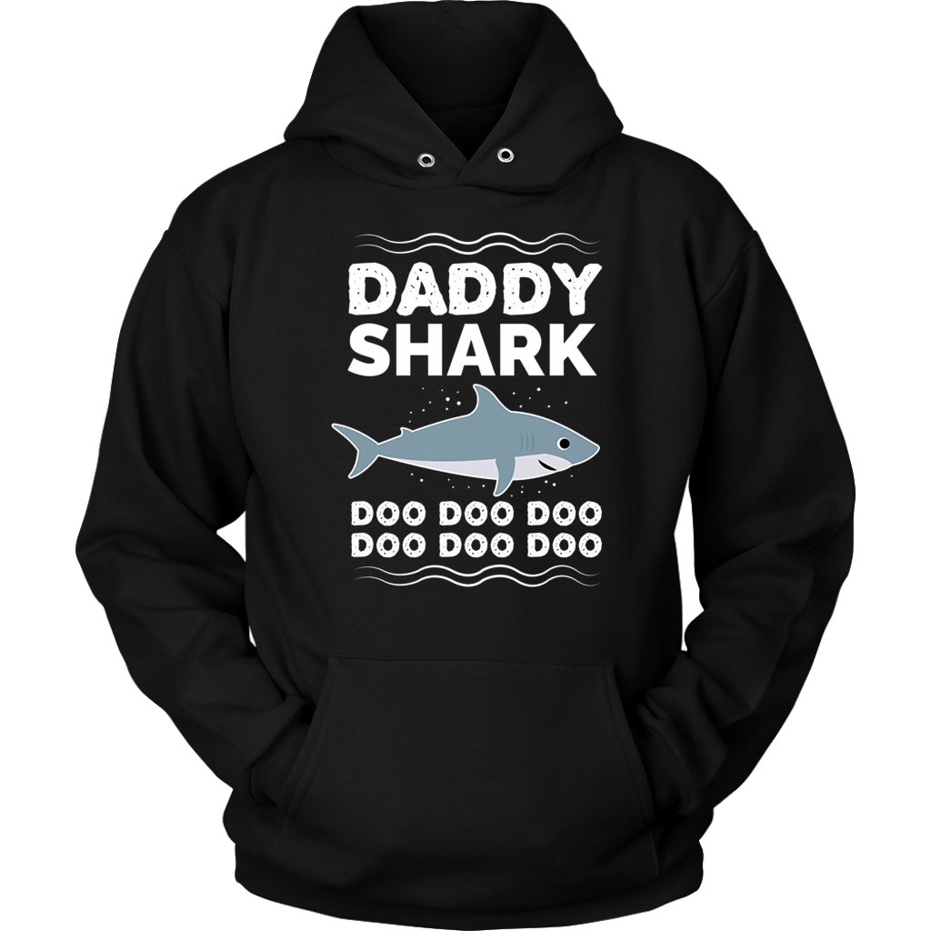 Mens Daddy Shark Doo Doo Doo T-Shirt | Matching Family Shirt