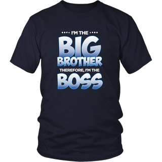 Kids Big Brother Shirt for Toddler : I'm The Boss