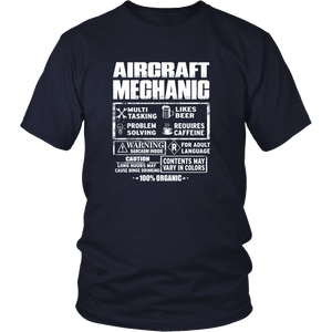 Aircraft mechanic-awesome aircraft mechanic tee T-Shirt