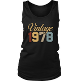 40th Birthday 1978 Vintage T-Shirt Forties Birthday Tee Quotes Hoodie
