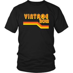2012 Retro Pop Vintage T-Shirt 5 yrs old Bday 5th Birthday