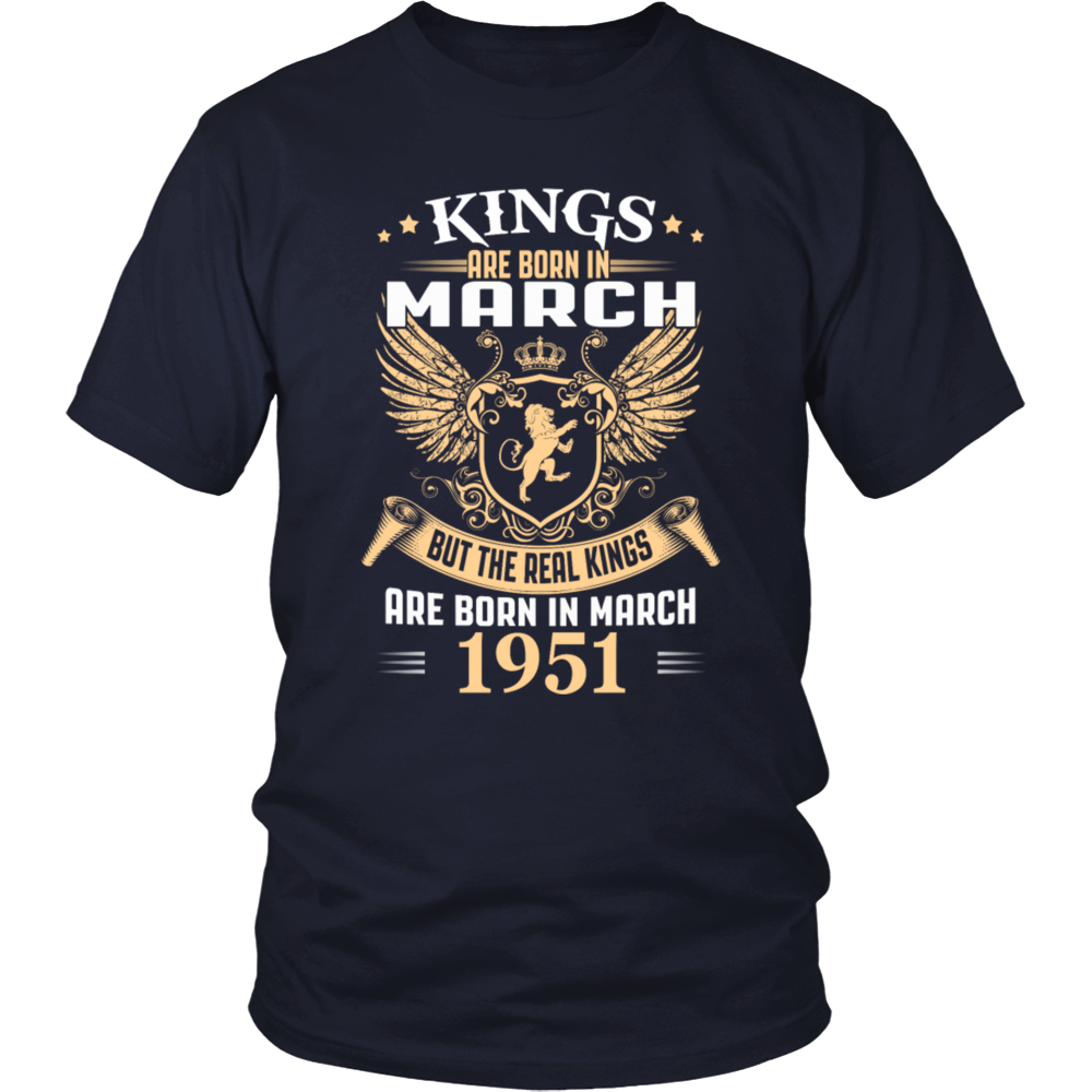 Kings Are Born in March 1951 T-Shirt