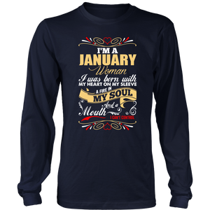I'm A January Woman Gift T-Shirt