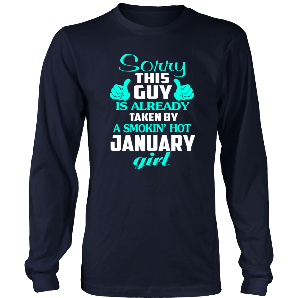 A Smokin' Hot January Girl T-Shirt