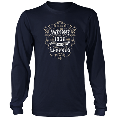 Awesome since 1938 80th Birthday T Shirt 80 Years Old Hoodie - Tank-Top
