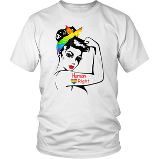 Lady Human Right LGBT Pride Limited Edition