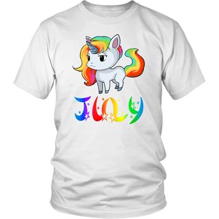 July Unicorn tshirt