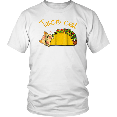 Taco Cat Spelled Backwards Is Taco Cat Shirt Funny Gift
