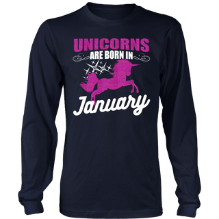 unicorns are born in January lovely