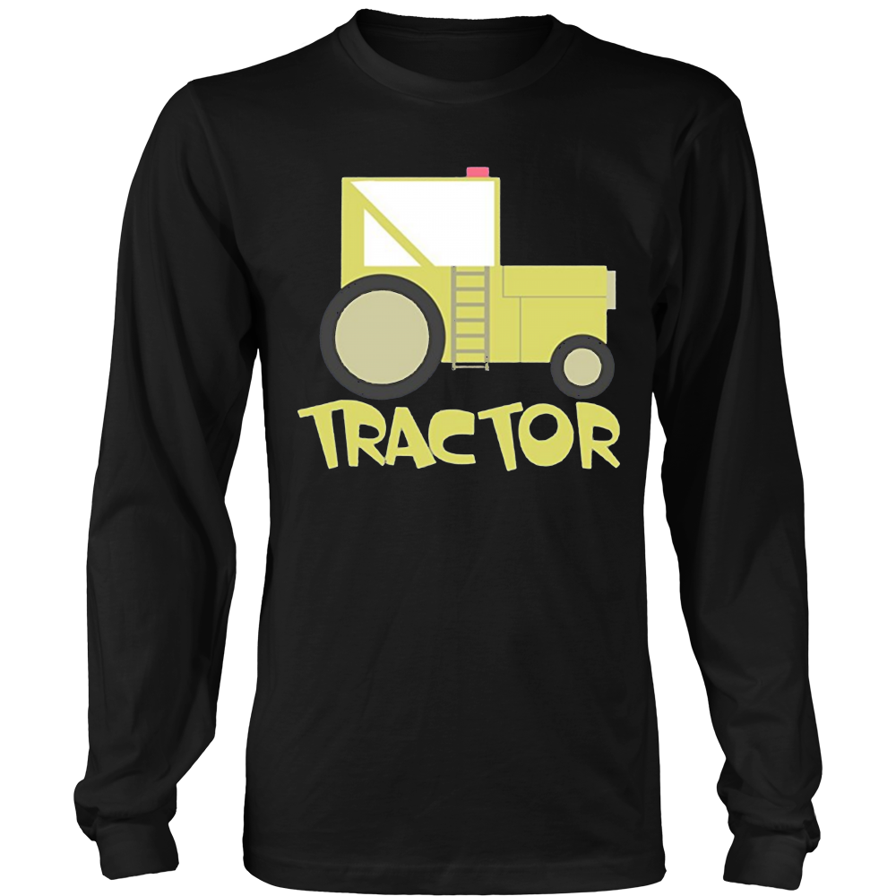 Kids Farmer Tractor Shirt | Toddler Boys Girls T-Shirt