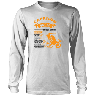 Capricorn Facts Serving Per Container Gift T-Shirt