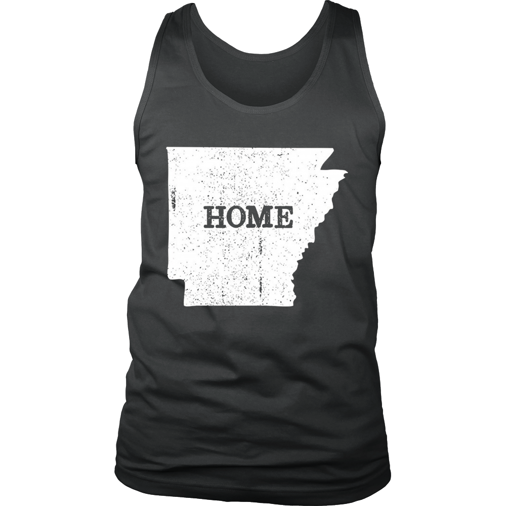 Arkansas AR Home Love Vintage state map outline shirt gift - Bornmay