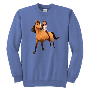 Kids DreamWorks Spirit Riding Free - Lucky & Spirit T-Shirt