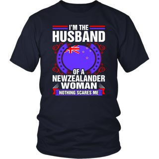 I'm The Husband Of A Newzealander Woman Gift T-Shirt