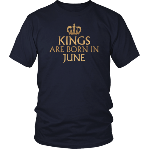 C441 KINGS ARE BORN IN JUNE T-Shirt Workout Gym Fitness MMA