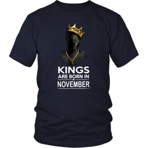 Kings Are Born in November Gift For Panthers Awesome Shirt