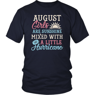 August Girls T-Shirt Funny August Facts Girl Sayings
