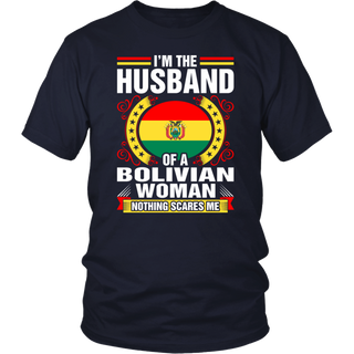 I'm The Husband Of A Bolivian Woman T-Shirt