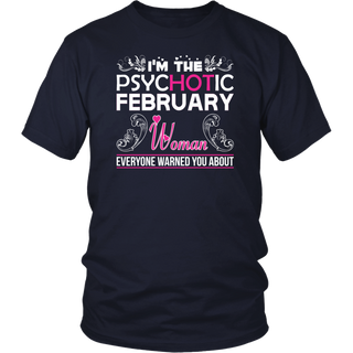 As A February Girl I Have Three Sides TShirt Birthday Gift