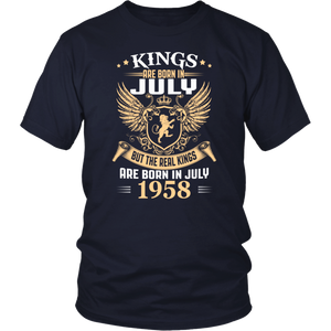 Kings Legends Are Born In July 1958 tshirt