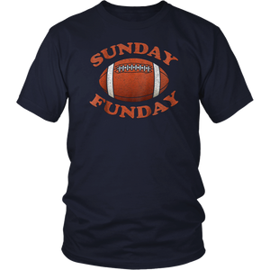 Vintage Sunday Funday T-Shirt Cleveland Football Retro Tee