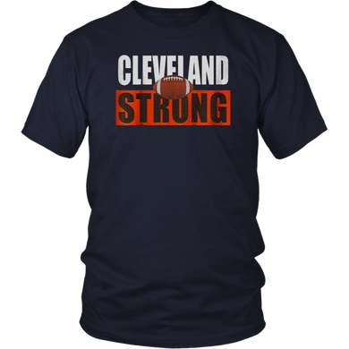 Cleveland Football Shirt Cleveland Strong Gift Tee For Team T-Shirt