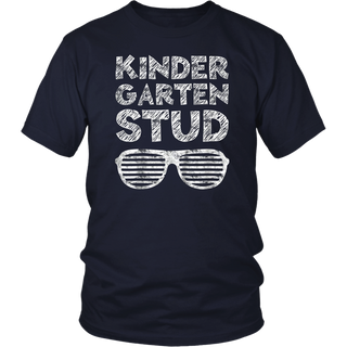 Kids Kindergarten Stud T-Shirt Funny Back To School Gift
