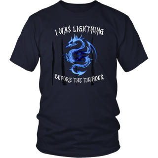 I Was Lightning Before The Thunder Shirt